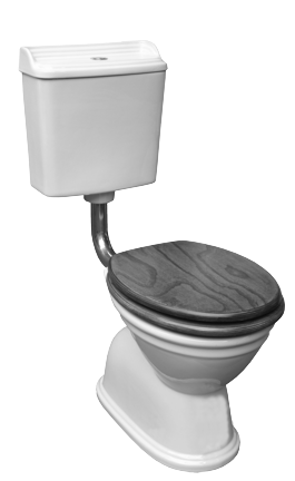 Colonial Feature Toilet Suite