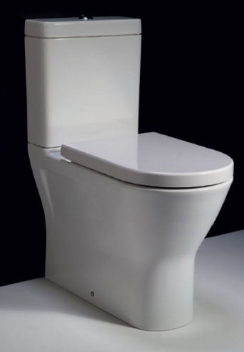 RAK Resort Rimless Back to Wall Bottom Inlet Toilet Suite