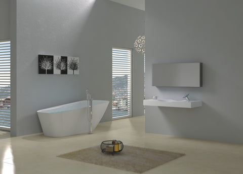 Madrid Solid Stone Bath