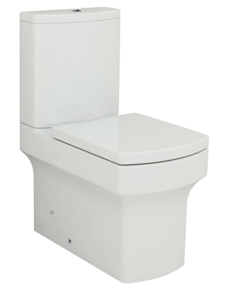 Melise Close Coupled Flush to Wall Toilet Suite