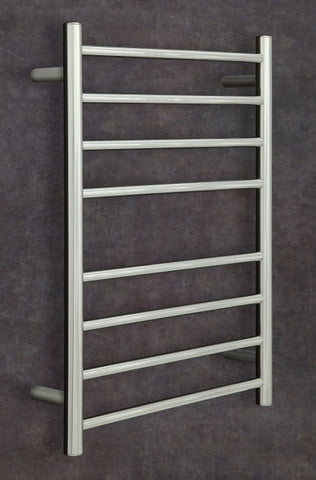 Heat Towel Rail Straight Round 700x530x120mm