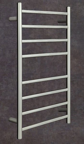 Heated Towel Rail Straight Round 1120x530x120mm
