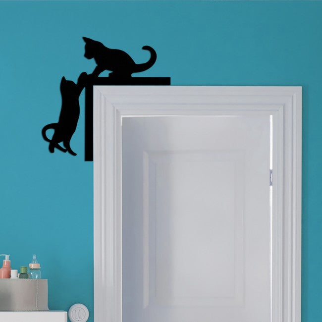Cat Designed Door Corner Ornament - Home Decor - casaculina - casaculina