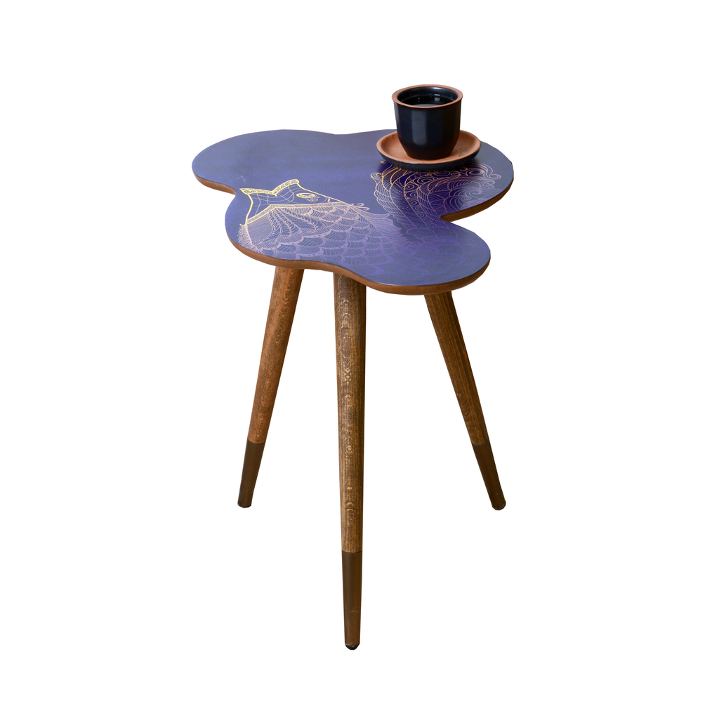 Fish Theme Modern Design Wooden  Side Table - Coffee Table - casaculina - casaculina