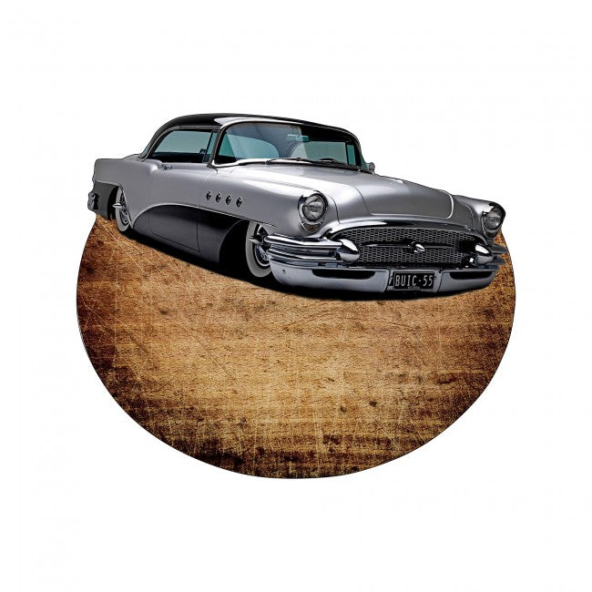 American Grey 56 Buick Car Design Modern Stylish Wooden Coffee Table, Cocktail Table for Living Room, Bedroom - Coffee Table - casaculina - casaculina