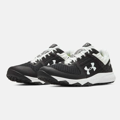 Under Armour Yard Trainer Black/White Field Shoe