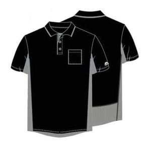 Majestic Authentic Side Panel Umpire Shirts Black / Small