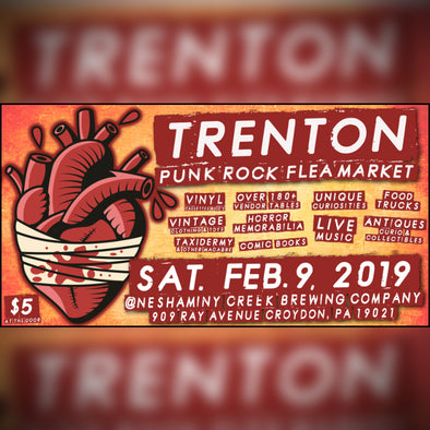 2019 TRENTON PUNK ROCK FLEA MARKET