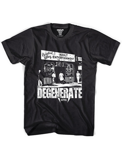 DEGENERATE NYC Men's Tee | SMUTLIFE