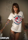 SMUTLIFE Natural Remedies Boyfriend T-shirt for Women