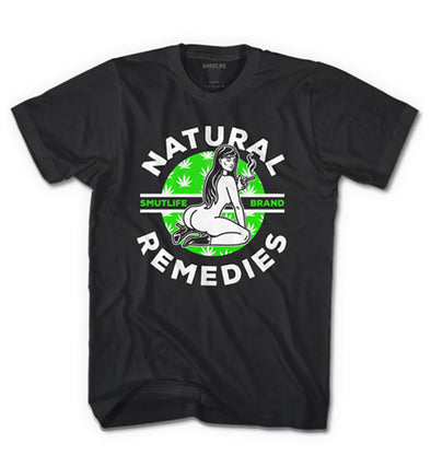 Smutlife Brand NATURAL REMEDIES Tee For Men