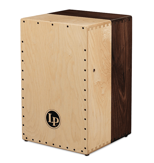 LP Americana Cajon (Solid Black Walnut and Solid Maple 2-Voice)