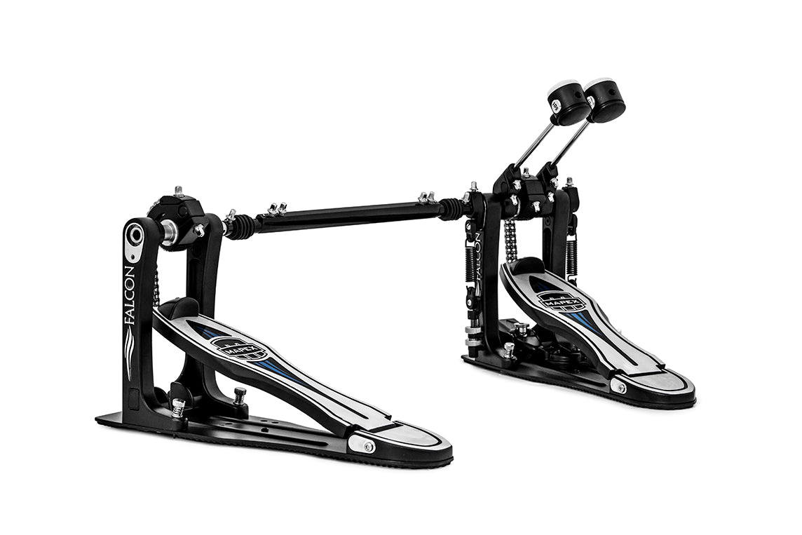 Mapex Falcon Double Pedal Double Chain Drive w/ Falcon Beater Including Weights