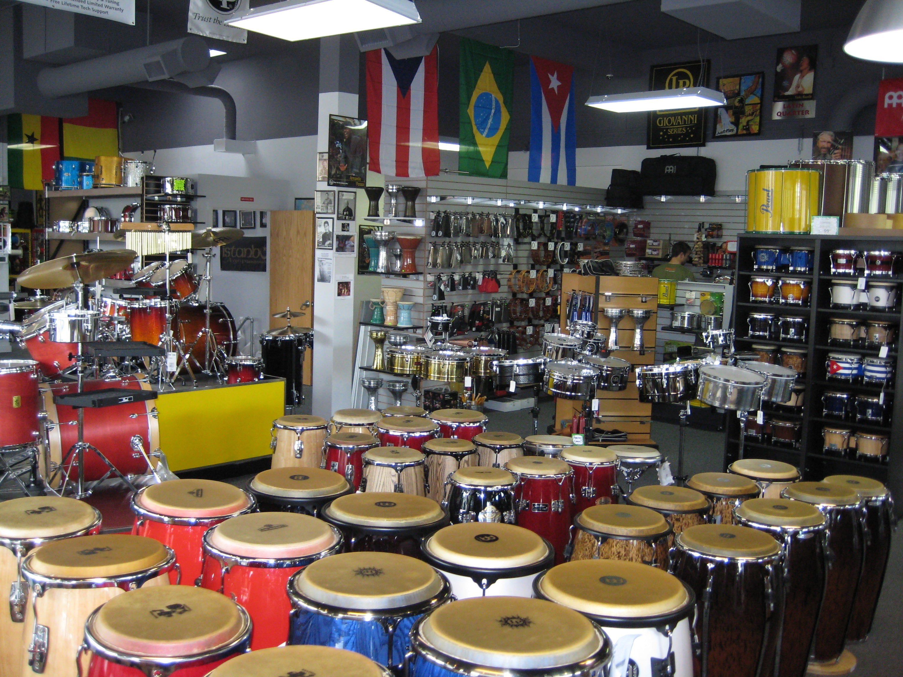 More Latin Drums