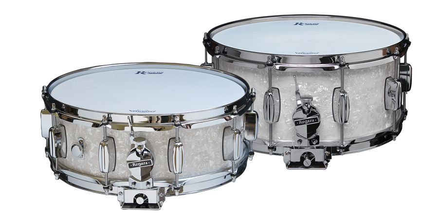 "Rogers Dyna-Sonic ""Bread & Butter"" Snare Drums"
