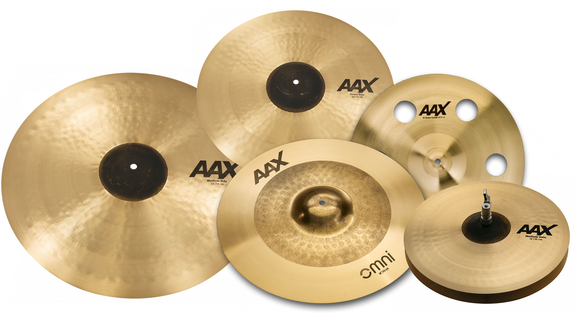 Sabian AAX Family Photo