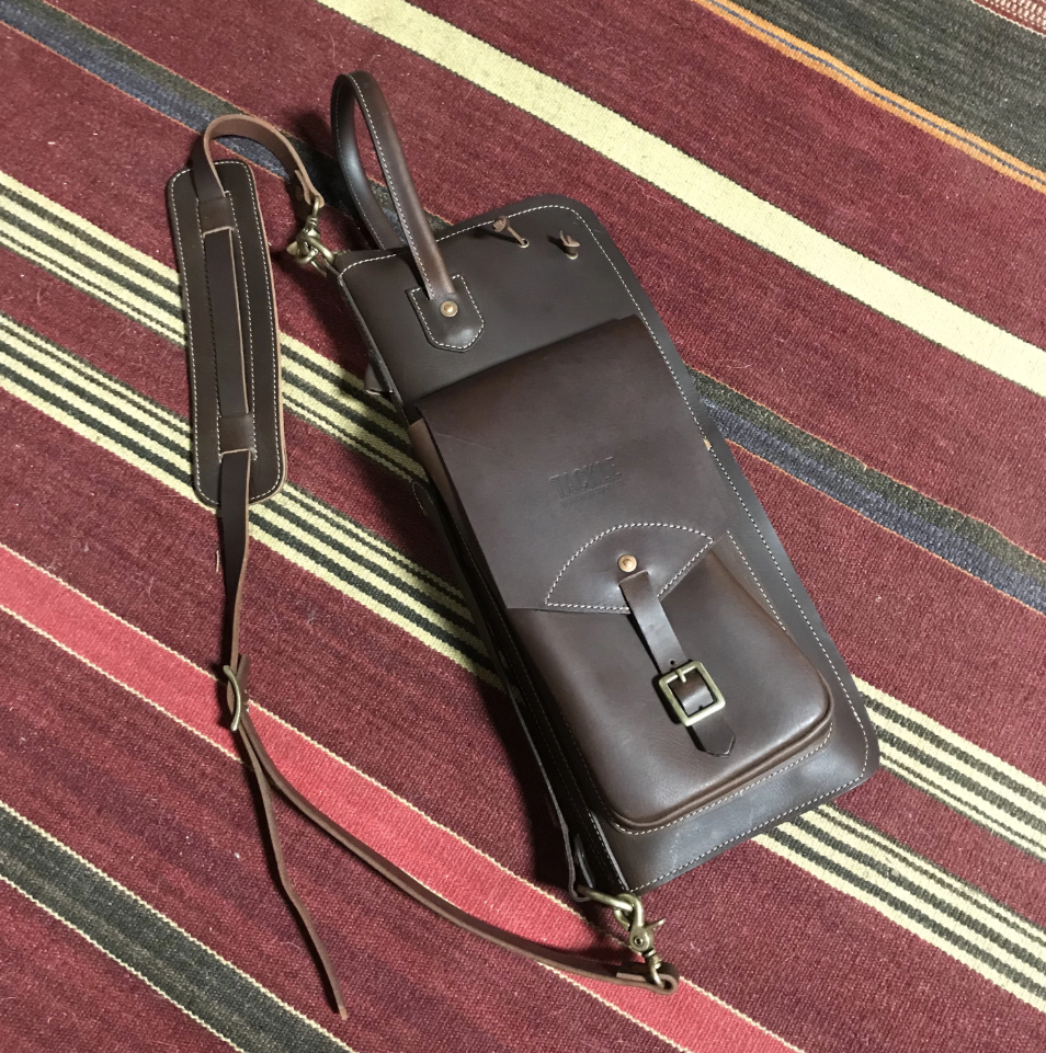 Tackle Genuine Leather Stick Bag