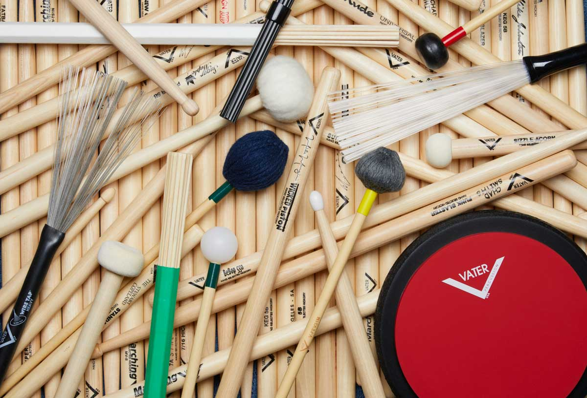 Vater Sticks, Mallets, and Brushes