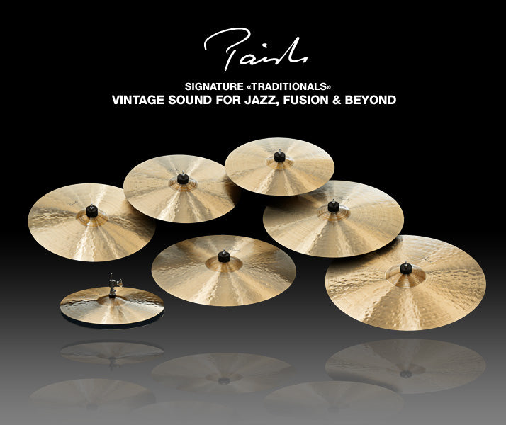 Paiste Signature Traditionals Family