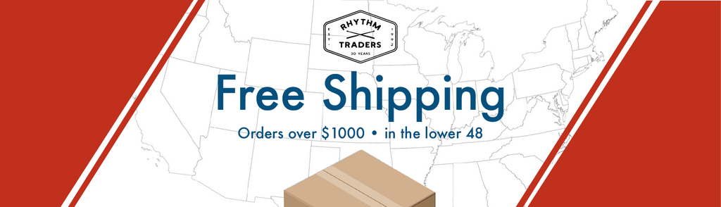 free shipping orders over $1000 in lower 48 states