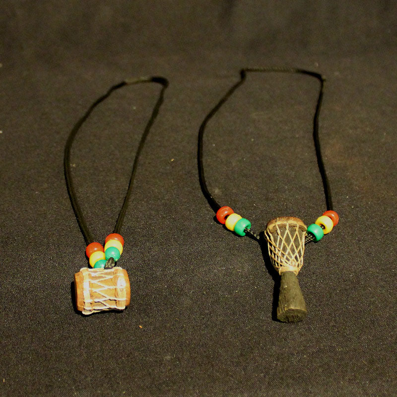 Djembe and Dunun Necklaces