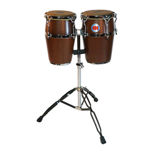 Mini Congas in Mahogany Finish