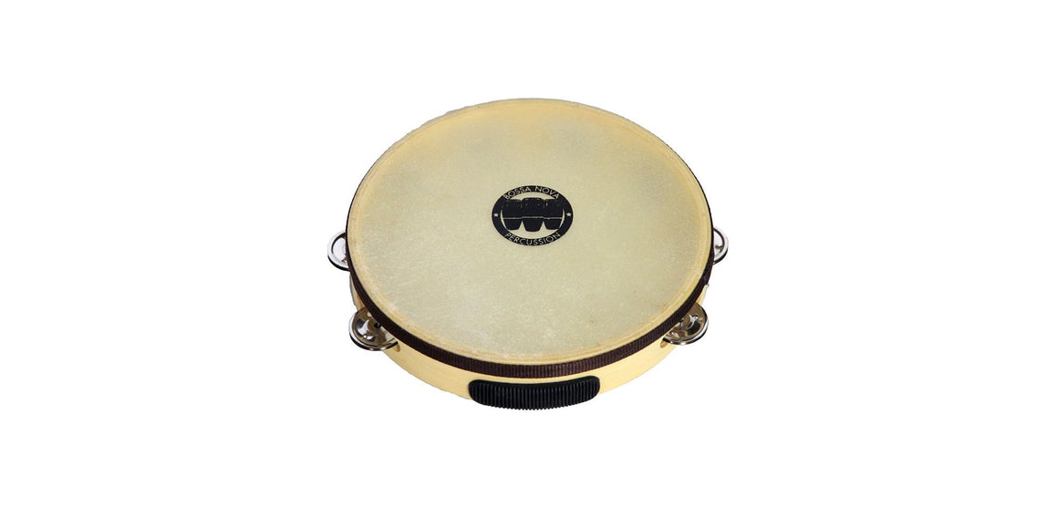 One Row Deluxe Headed Tambourines