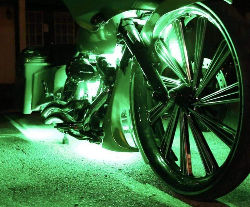 colorwerkz Motorcycle Lighting 13-Piece Motorcycle underglow Lighting Kit