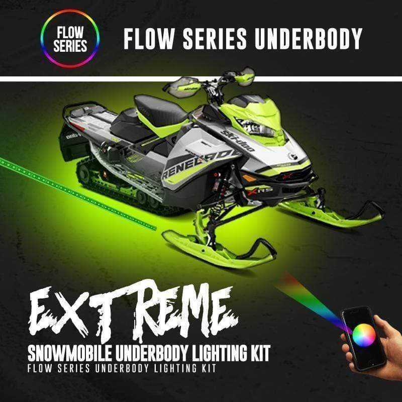 colorwerkz Snowmobile Lighting Extreme Snowmobile Underbody Flow Series Lighting Kit