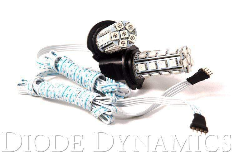 Diode Dynamics Foglight Diode Dynamics H7 Multicolor Fog/DRL LED Bulb Kit