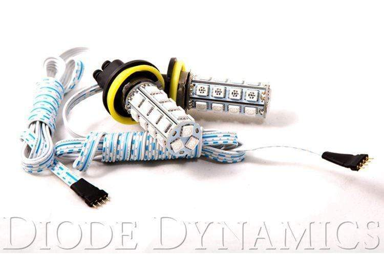 Diode Dynamics Foglight Diode Dynamics H8 Multicolor Fog/DRL LED Bulb Kit