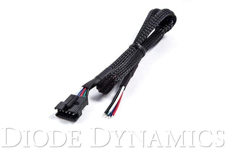 Diode Dynamics LED Wiring and Installation Diode Dynamics 5-pin Male JST Pigtail
