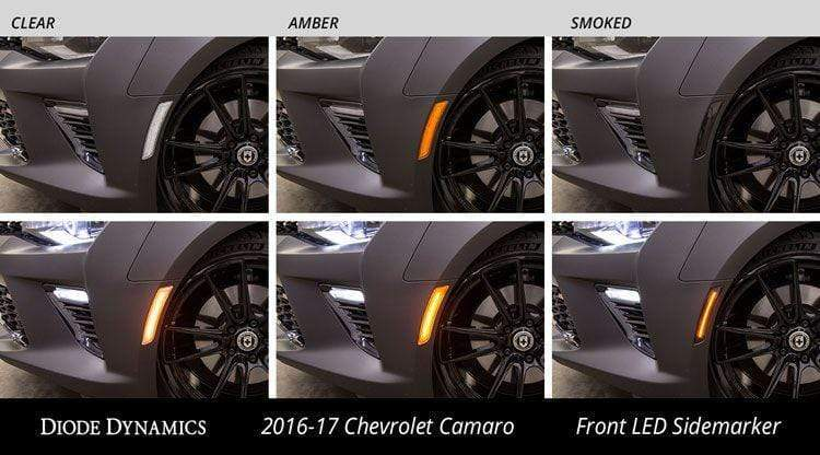Diode Dynamics Sidemarker Diode Dynamics LED Sidemarkers for 2016-2019 Chevrolet Camaro