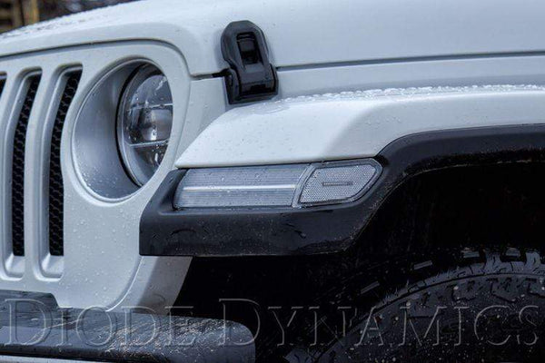 Diode Dynamics Sidemarker Diode Dynamics LED Sidemarkers for 2018-2019 Jeep JL Wrangler (pair)