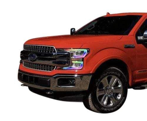 lighting trendz DRL Boards 2018+ Ford F150 Multicolor DRL Boards