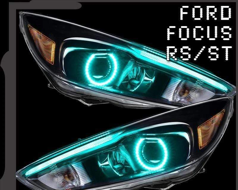 Oracle DRL Boards RGB / Bluetooth Controller 2015-2017 FORD FOCUS RS/ST COLORSHIFT HALO + DRL KIT