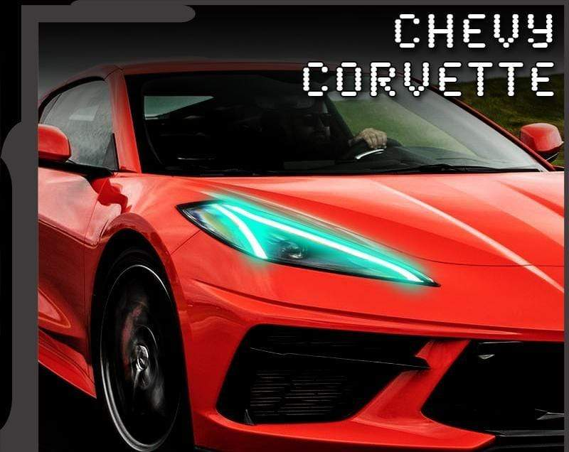 Oracle DRL Headlight RGB / Bluetooth Controller 2020 CHEVROLET C8 CORVETTE ORACLE COLORSHIFT® RGB+A LED HEADLIGHT DRL UPGRADE