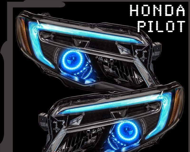 Oracle DRL Kit RGB / Bluetooth Controller 2016-2018 HONDA PILOT ORACLE COLORSHIFT HALO + DRL KIT