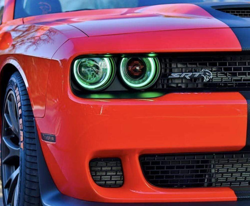 RGB Halo Kits DRL Boards 2015-2020 Dodge Challenger RGBW DRL Boards
