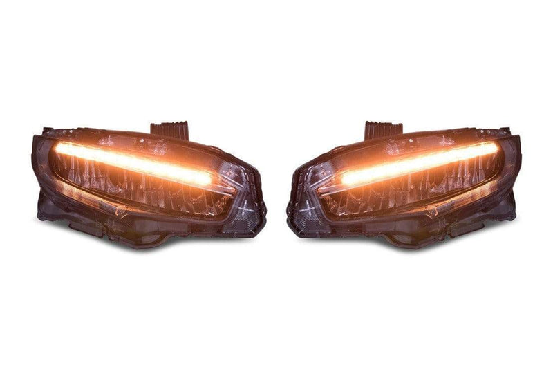theretrofitsource Led Headlights Honda Civic (16+): OE LED Style Headlights