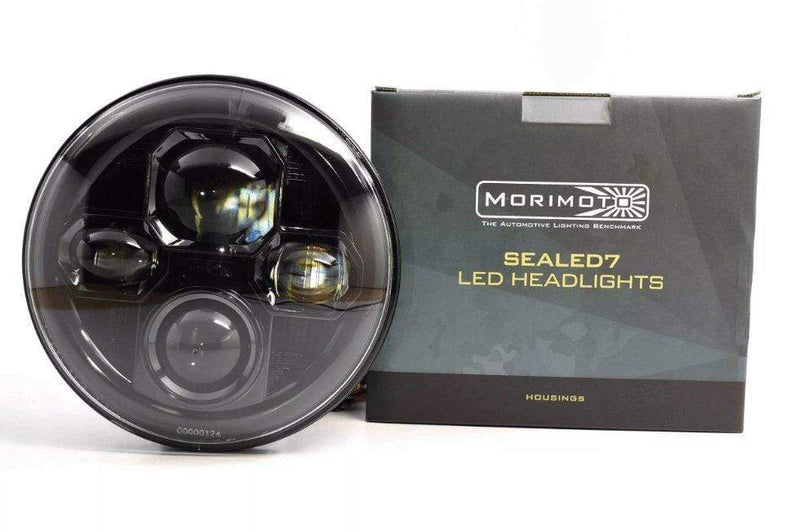 Theretrofitsource Led Headlights SEALED7 2.0: MORIMOTO BI-LED (sold individually)