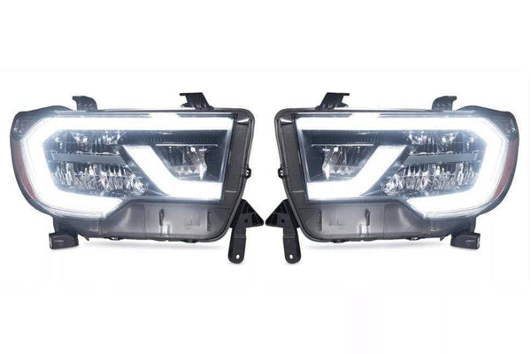 theretrofitsource Led Headlights Toyota Sequoia (18+): OEM LED Headlights
