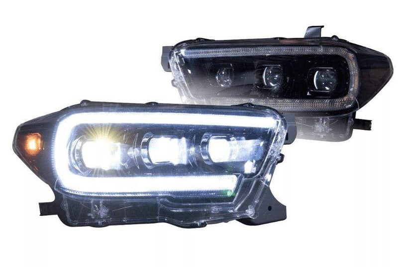 theretrofitsource Led Headlights Toyota Tacoma (16+): XB LED Headlights