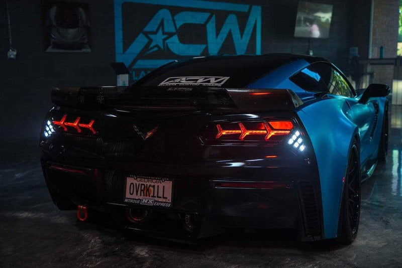 Theretrofitsource Led Tail Lights Chevrolet Corvette (14-19): Morimoto XB LED Tails