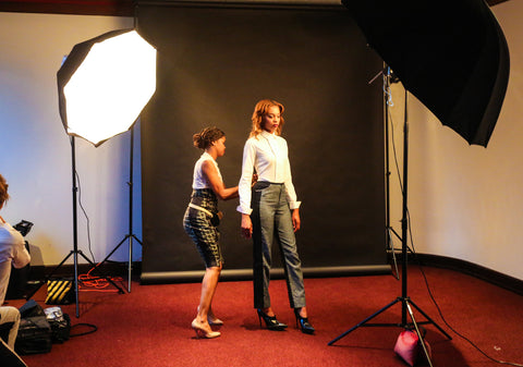 "OIA - Wear Your Voice ""Behind the Seams"" Photo Shoot"
