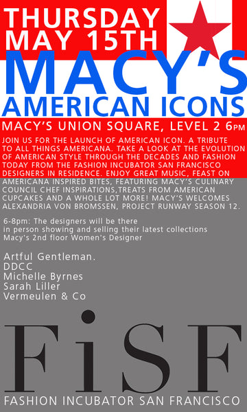 Macy's American Icons: May 15th, 2014 6-8pm