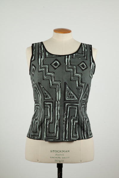 Vintage Grey and Black Shell (4)