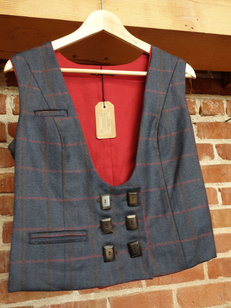 Plaid Vest (4) - Last one!