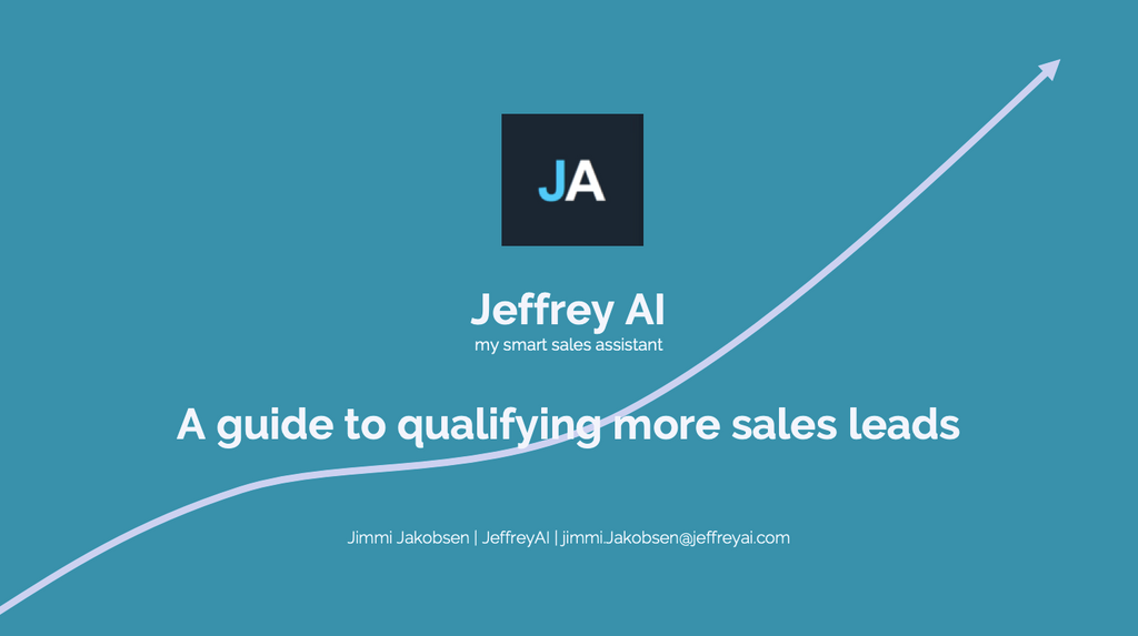 Qualify More Sales Leads - Get The Guide
