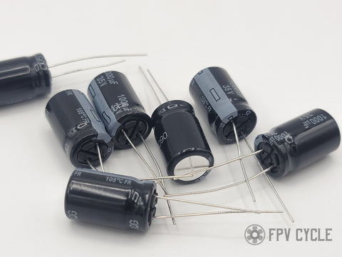 Panasonic FM/FR Low ESR Electrolytic Capacitors